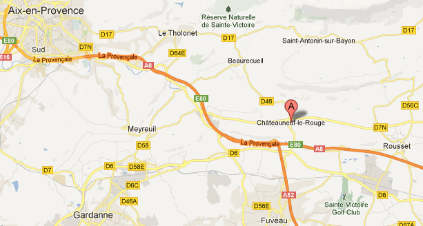 Maps Chateauneuf