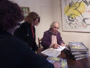 Signature de l'ouvrage